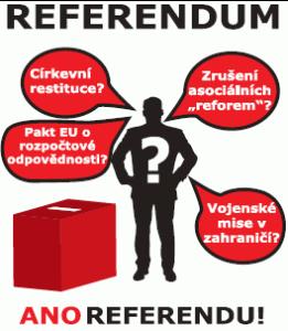 KSČM Referendum