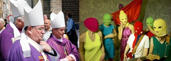 Duka vs Pussy: aktéři se snaží upoutat pozornost směšnými kostýmy