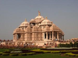 Swaminarayan Akshardham Temple in Delhi,
