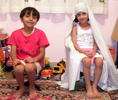 Íránské dívky ve věku vhodném pro manželství