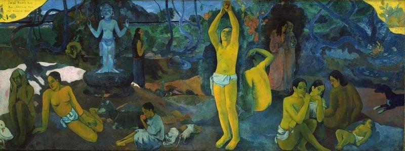 Odkud jdeme? Co jsme? Kam jdeme? / Paul Gauguin