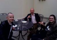 Tříčlenná delegace ateistů ve sněmovně