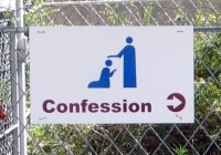 Lourdes_sign_for_confession