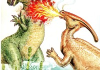 Parasaurolophus-Breathing-Fire-ICR
