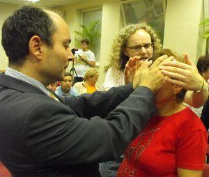 Léčení na setkání křesťanů