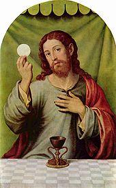 Ježíš Kristus a eucharistie