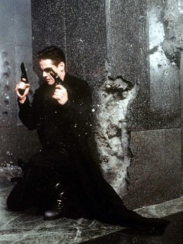 Neo, který prohlédl realitu Matrixu. Předchůdce vědce Silase R. Beanea.