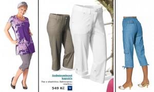Kalhoty zásadním způsobem zdůrazňují pozici rozkroku, resp. klína a vytváří z něho v mužském podvědomí brutálně dominující prvek na pozorované ženě.