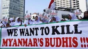 """""""Chceme zabít myanmarské buddhisty,"""" vzkazují indonésští muslimové."""