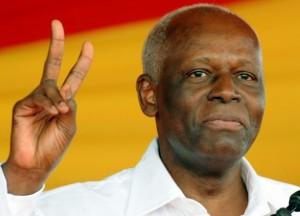 Angolský prezident José Eduardo dos Santos