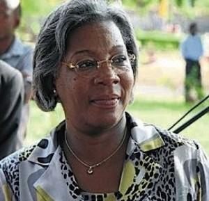 Angolská ministryně kultury Rosa Cruz e Silva