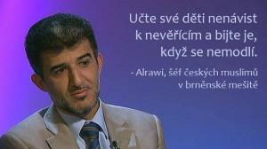Muneeb Hassan Alrawi, šéf Ústředí muslimských obcí v České republice.
