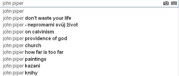 Jak vidno, po Piperově moudrosti dychtivě baží také čeští křesťané.
