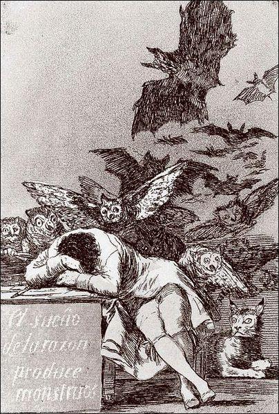 Spánek rozumu plodí příšery